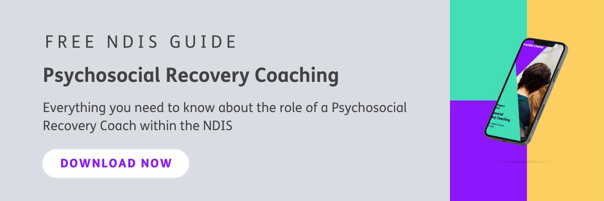 Psychosocial Recovery Coaching Guide